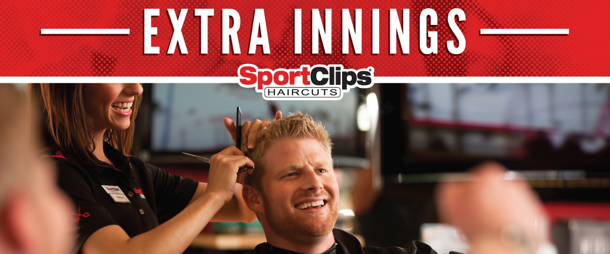 The Sport Clips Haircuts of Aurora - Southlands Extra Innings Offerings